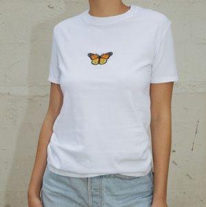 Brandy Melville JG Jamie Butterfly Top